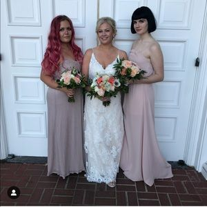 7777face218 Show Me Your MuMu Dresses - BRIDESMAID DRESS ~ DUSTY BLUSH CRISP